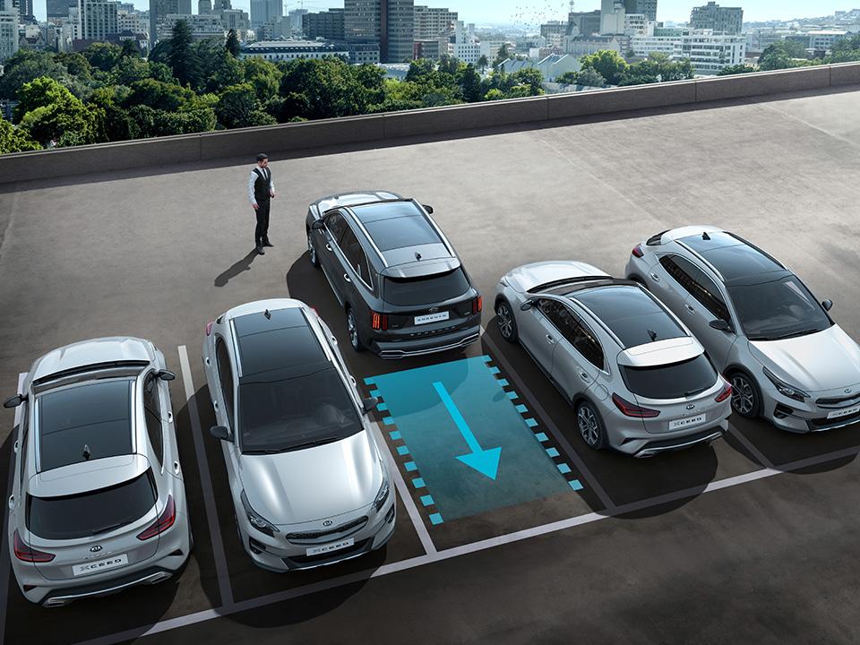 Noul sistem inteligent de asistare a parcării de la distanță (Remote Smart Parking Assist - RSPA)